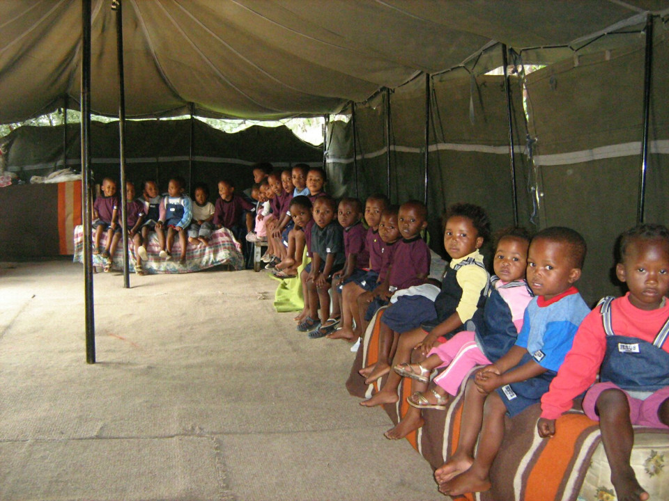 Feeding Center in Wepener